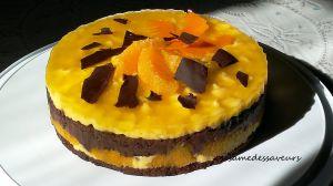 Recette Entremets orange chocolat