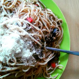 Recette Sauce aux olives et à la tomate pour pâtes !