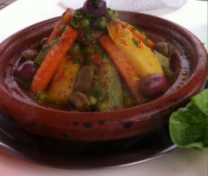 Recette Tajine de veau aux legumes printaniers