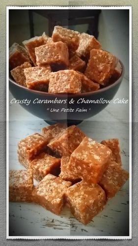 Recette Crusty Carambars & Chamallow Cake