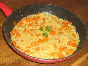Recette Risotto aux carottes