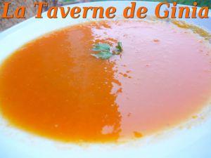 Recette Soupe à la citrouille et aux carottes