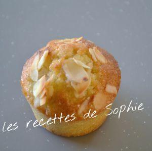 Recette Muffins aux poires et aux amandes