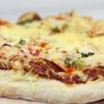 Recette Pizza aux asperges et au mozzarella