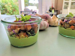 Recette Panna Cotta à l'ail et roquette, comme une aïoli de légumes – Ma recette France 3 Occitanie