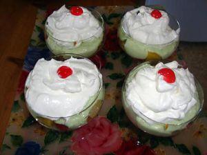 Recette Dessert trois couleurs