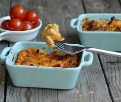Recette Frittata au poulet et aux poivrons