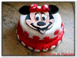 Recette Layer cake Citron-Fraise : gâteau anniversaire Minnie