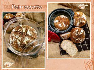 Recette Pain cocotte et petits pains individuels