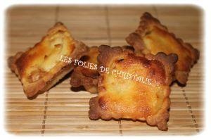 Recette Minis-tartelettes pêches amandes