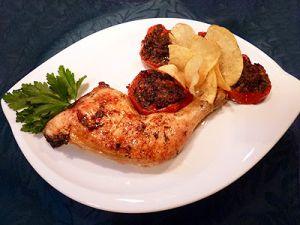 Recette Cuisses de poulet provençale