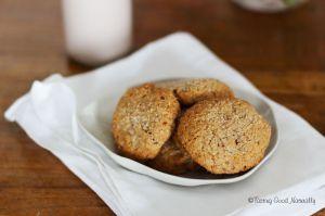 Recette Cookies à l'amande #vegan