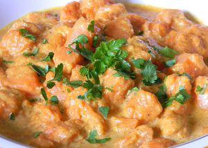 Recette Courge au curry Encore une recette à base