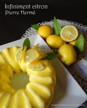 Recette Émotion infiniment citron de Pierre Hermé