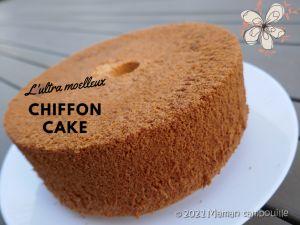 Recette Chiffon cake {avec astuce sans moule à chiffon cake}