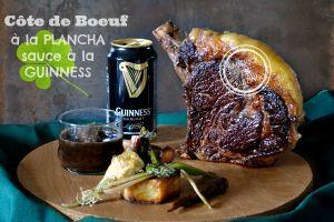 Recette Cote plancha – Côte de boeuf plancha sauce à la Guinness
