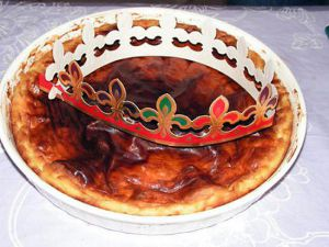 Recette Galette franc-comtoise à la crème pâtissière