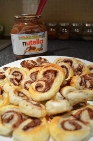 Recette Nutella rolls - Palmiers au Nutella