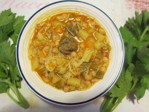Recette Chorba (soupe algérienne)