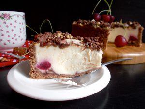 Recette Käsekuchen façon forêt noire (cheesecake allemand)