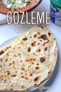 Recette Gözleme crêpes turques au fromage