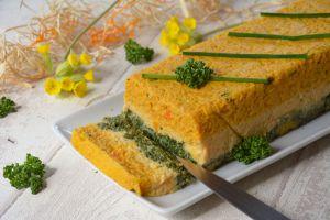 Recette Terrine de légumes de printemps (3 couleurs)
