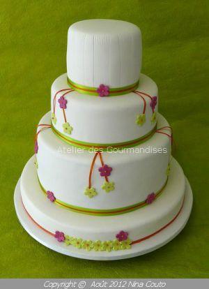 Recette Wedding Cake pour Julie