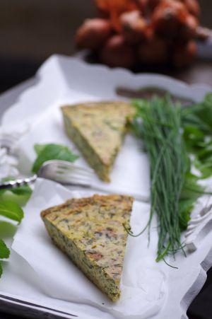 Recette Frittata de courgettes aux herbes inratable , la recette