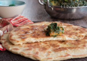 Recette Cheese naan / naan au fromage indien
