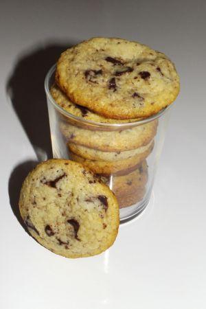 Recette Cookies au lait concentré sucré et aux pépites de chocolat