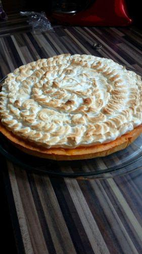Recette Tarte au citron meringuee au kitchenaid