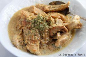 Recette Escalopes de poulet au Roquefort