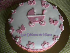Recette Gâteau pour Marion (pâte à sucre)