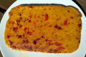 Recette Polenta aux poivrons grillés