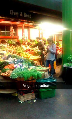 Recette Vegan à Londres