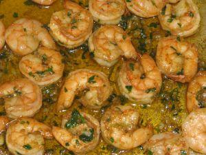 Recette Tajine aux crevettes