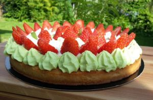 Recette Fantastik fraises amandes verveine