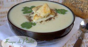 Recette Soupe de poulet / velouté de poulet