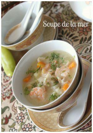Recette Soupe de la mer