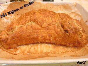 Recette Filet mignon de porc en croute
