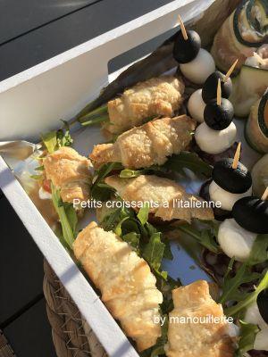 Recette Petits croissants à l'italienne