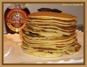 Recette Pancakes américains à la fève tonka