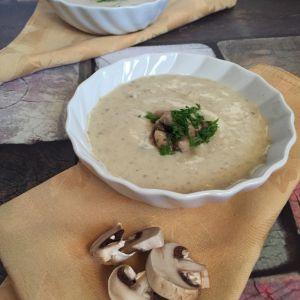 Recette Soupe aux Champignons frais, Mushroom Soup