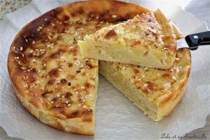 Recette Gâteau au fromage blanc & aux pommes {recette légère}