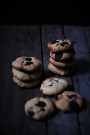 Recette Biscuits tahini chocolat