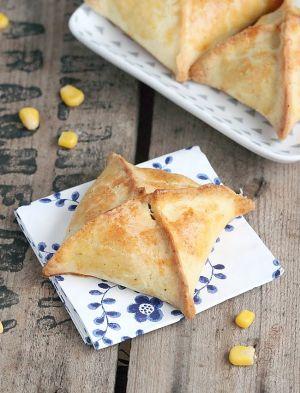 Recette Chaussons polenta et maïs