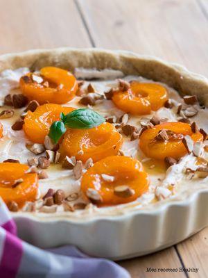 Recette Tarte aux abricots et ricotta