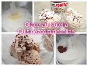 Recette Glace au Nutella