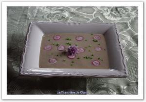 Recette Soupe de radis rose