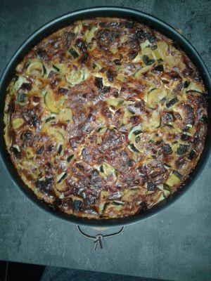 Recette Cuajada courgette jambon 5pp/ personne